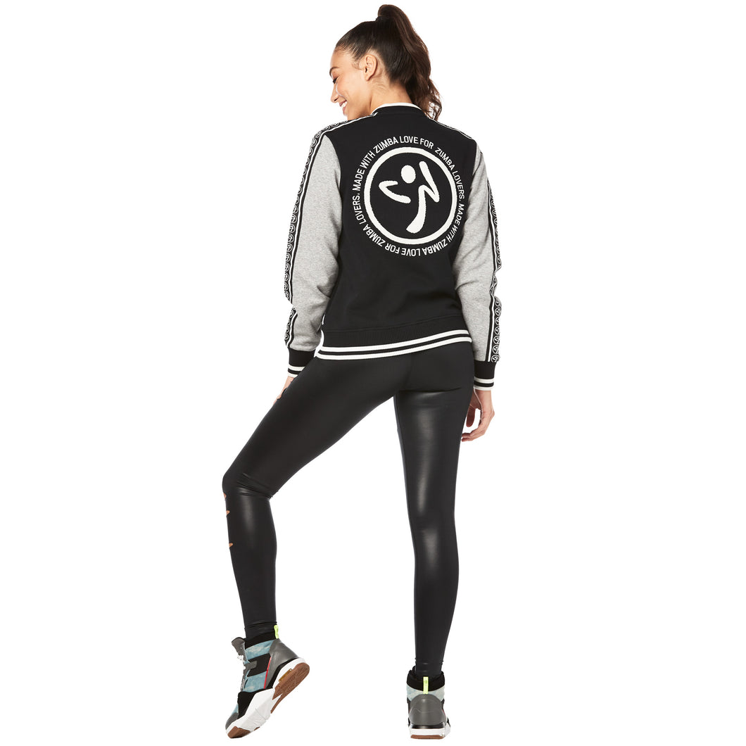 Zumba® Keep Dancing Bomber Jacket