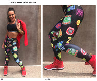 Zumba® All Stars High Waisted Ankle Leggings