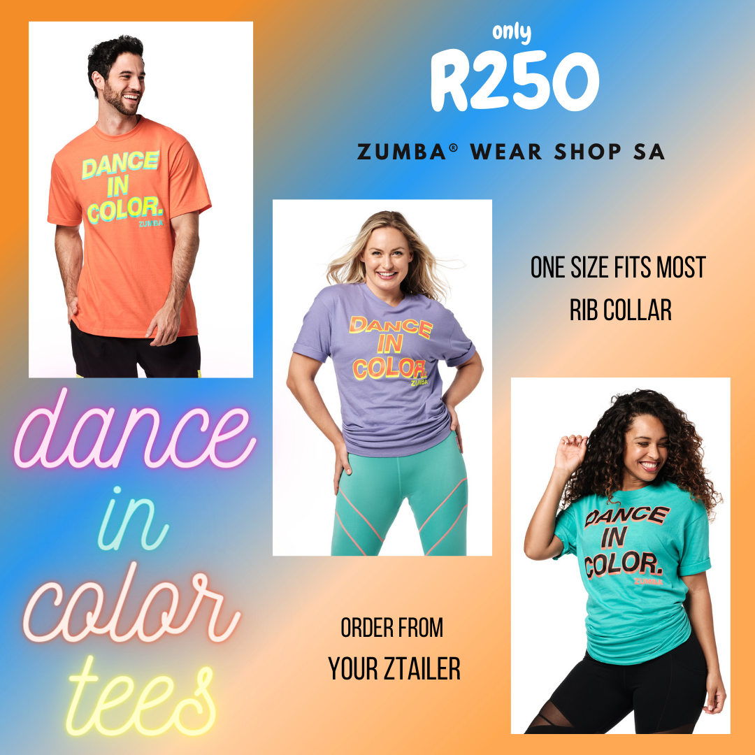 Zumba® Dance In Color Tees 12 PK