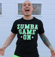 Zumba® Game On Men's Tee