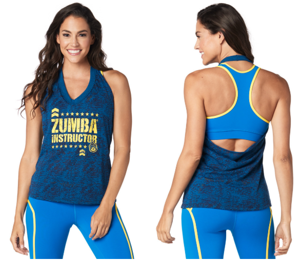Zumba®For All Instructor Halter Top