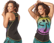 Zumba® Happiness High Neck Tank