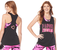 **SHIP NOW** I Love Zumba® Tank ( Very Low Stock )