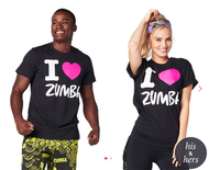 **SHIP NOW** I Love Zumba®Tee