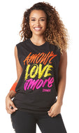 Amour Love Amore Instructor Muscle Tank {ZIN™ EXCLUSIVE - membership will be verified}