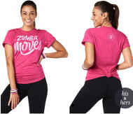 Zumba® Moves Tee Party In Pink™
