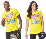 ***SHIP NOW *** Saved by the Zumba Instructor ZIN™ Exclusive Tee