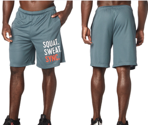 SBZ Squat Sweat Sync Basketball Shorts