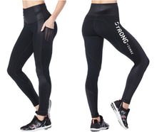 Load image into Gallery viewer, STRONG Get Amped Panel Long Leggings