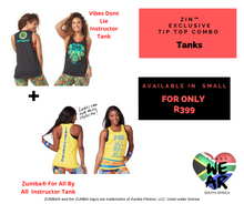 Load image into Gallery viewer, Vibes Dont Lie for all Instructor Tank ZIN™ Combo