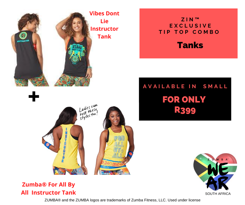 Vibes Dont Lie for all Instructor Tank ZIN™ Combo