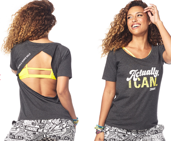 Zumba® Fierce Female Open Back Top