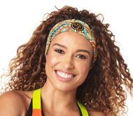 Zumba GROOVY Headbands 3 in a Pack