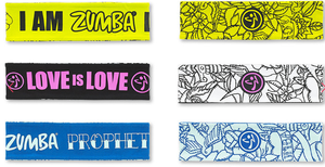 Zumba® Reversible Headbands (Pack of 3)