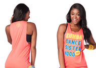 **SHIP NOW** Zumba® Sisterhood Loose Tank