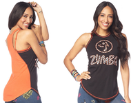 ***SHIP NOW **** Live Bold Dance Bold High Neck Tank