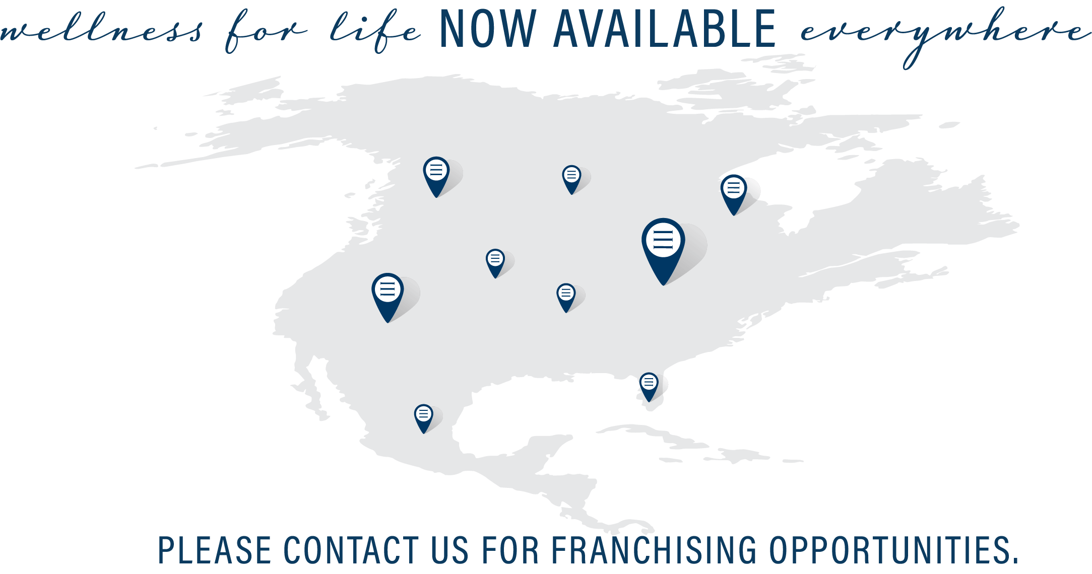 Dwell Franchise Opportunity Map