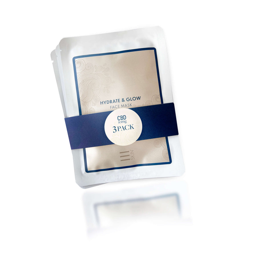 dwell CBD facemask 3pack