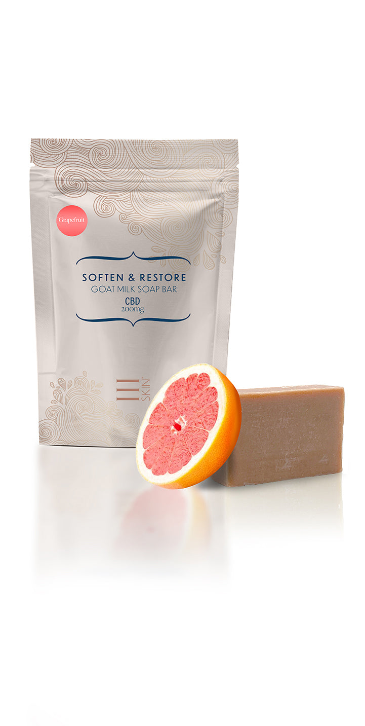 CBD Honey Grapefruit Soap