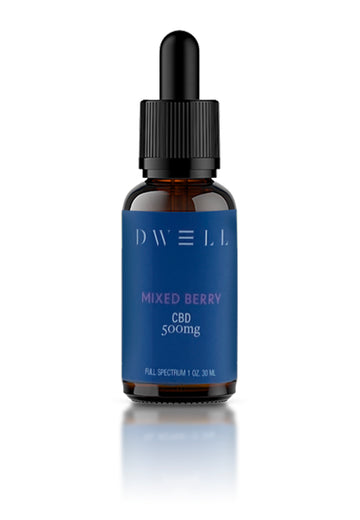 Dwell CBD Oil Mixed Berry