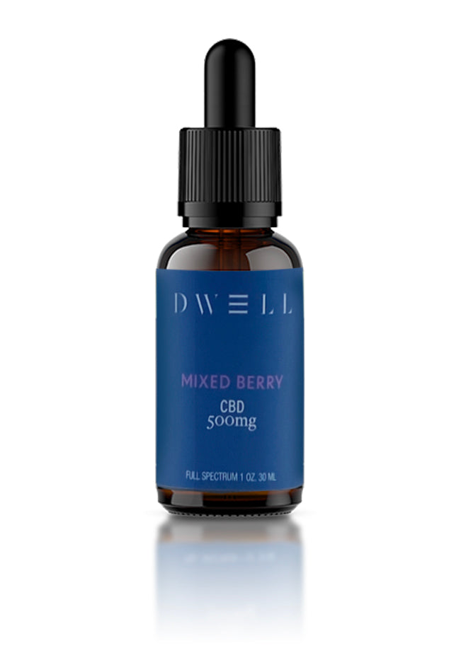 Dwell Hemp CBD Oil Mixed Berry