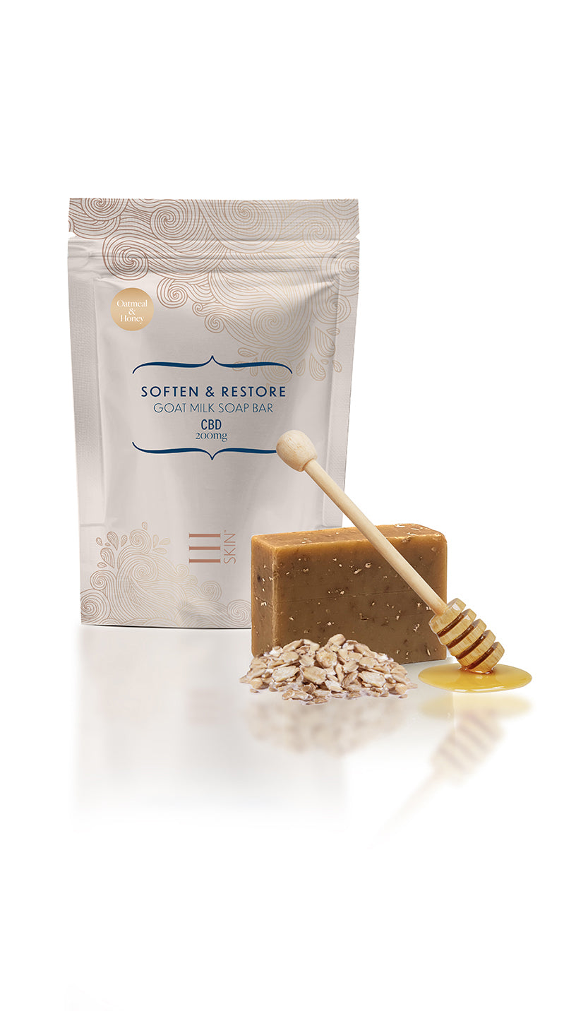CBD Oatmeal Honey Soap