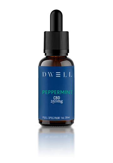 full spectrum hemp CBD oil peppermint