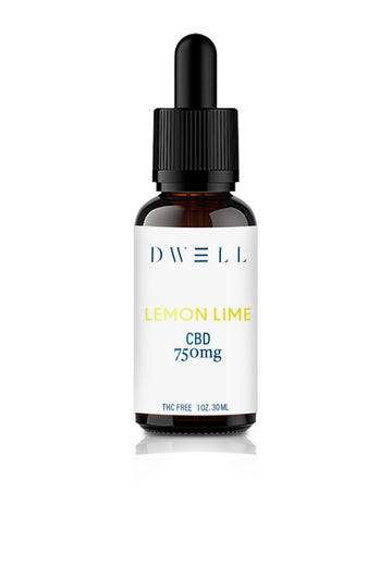 THC Free Hemp CBD Oil lemon lime