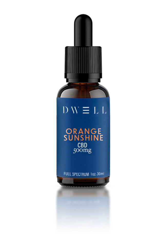 Dwell Hemp CBD Oil Orange Sunshine