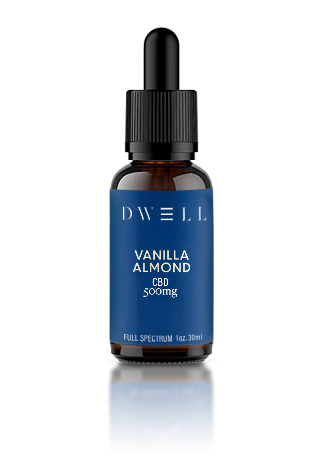 Dwell Hemp CBD Oil Vanilla Almond