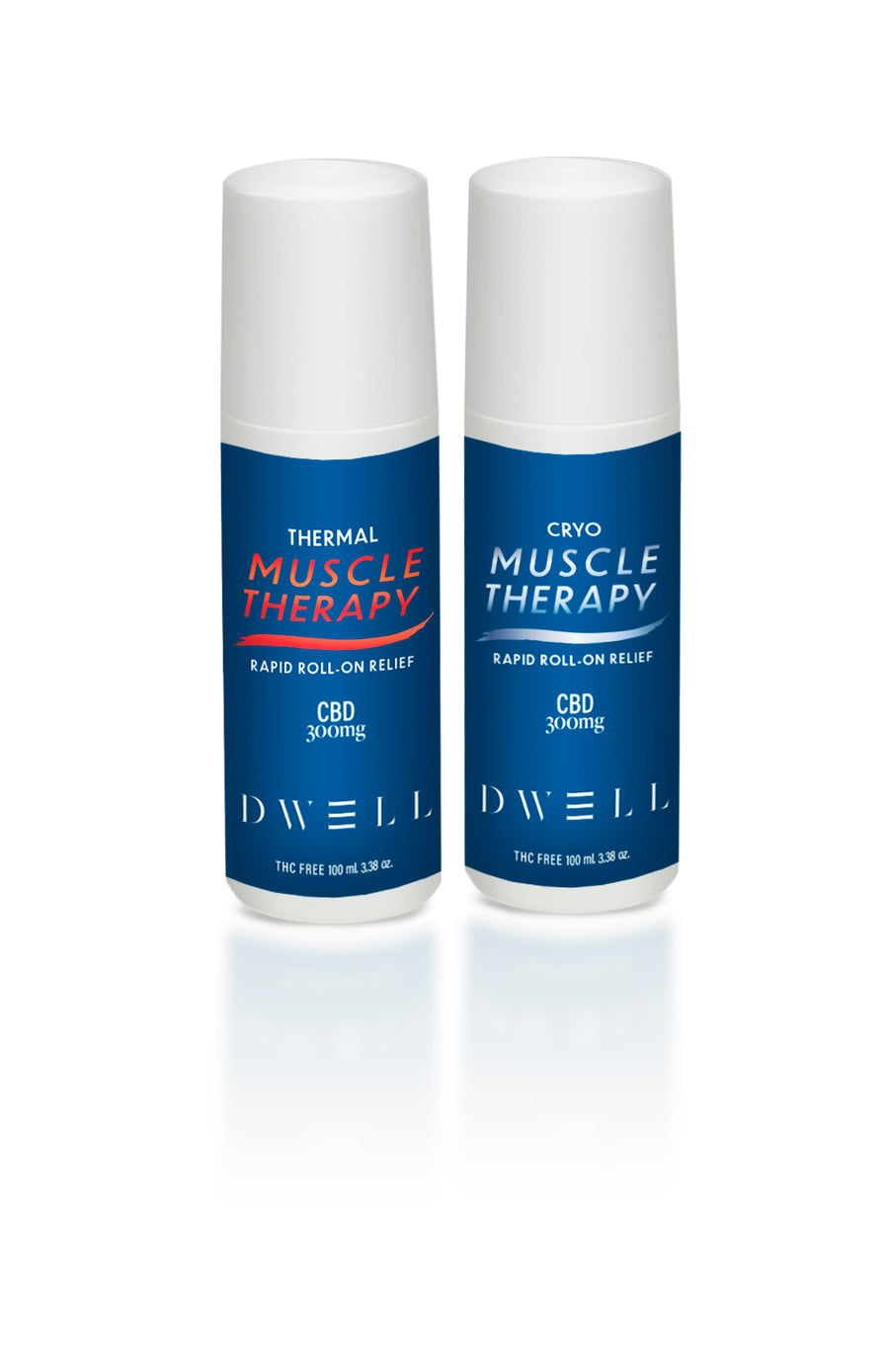 CBD roll-on muscle therapy