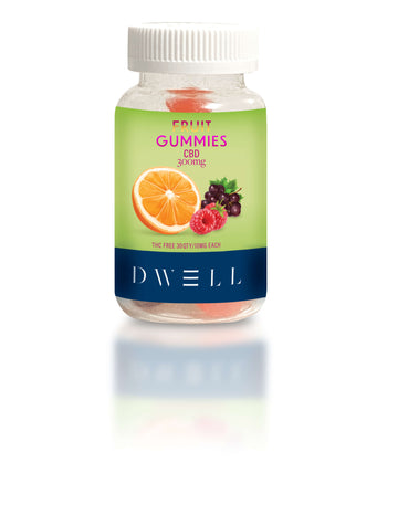 hemp CBD gummies tropical fruit