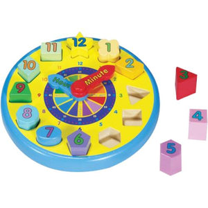 Melissa and Doug - Shape Sorting Clock