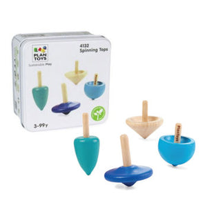 Plan Toys - Mini Game - Spinning Tops