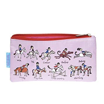 Tyrrell Katz - Pencil Case - Horse Riding