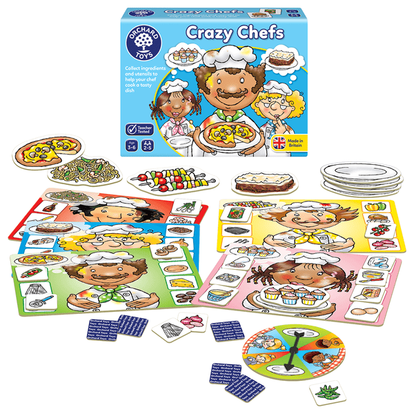Orchard Toys - Crazy Chef