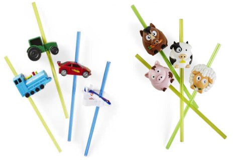 Sip n Sound Straws - Animal & Transport Vehicle Sounds