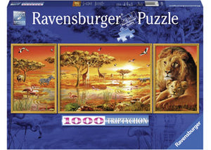 Ravensburger Puzzle -  African Majesty - 1000 Pieces
