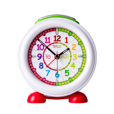 EasyRead Time Teacher Rainbow Past & To Alarm Clock