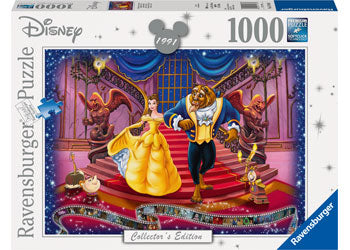 Ravensburger Puzzle - Beauty & The Beast - 1000 Pieces