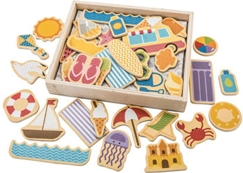 Big Jigs - Seaside Magnets - 35 Pieces