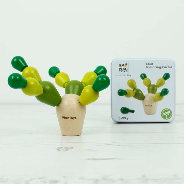 Plan Toys - Mini Game - Balancing Cactus
