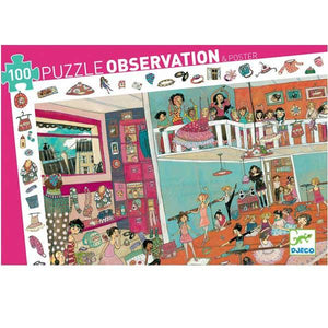 Djeco - Observation Puzzle - Dance - 100 pieces