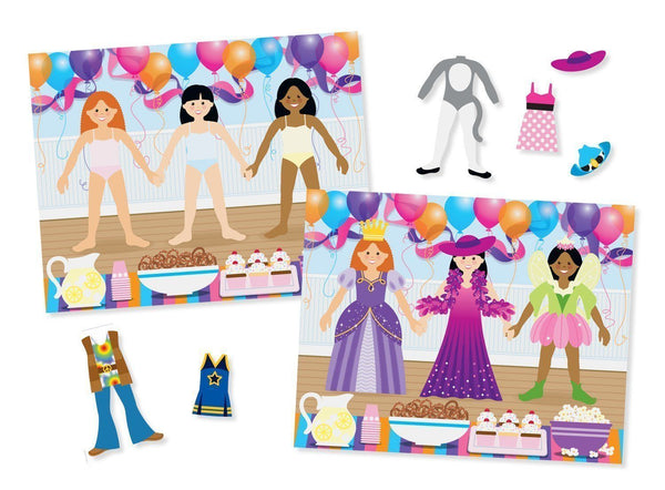 Melissa and Doug - Reusable Stickers - Dress-Up
