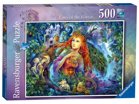 Ravensburger Puzzle - Fairy Of The Forest - 500 Pieces