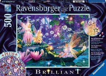 Ravensburger Puzzle - Fairy with Butterflies - 500 Pieces