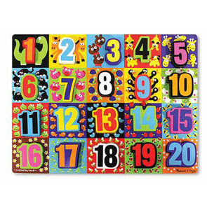 Melissa and Doug - Chunky Puzzle - Jumbo Numbers