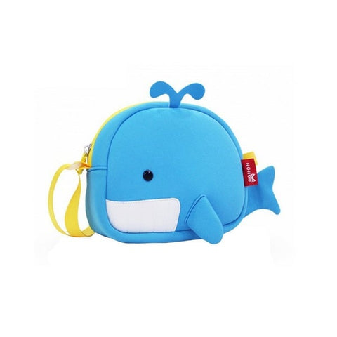 Nohoo - Whale Satchel - Blue