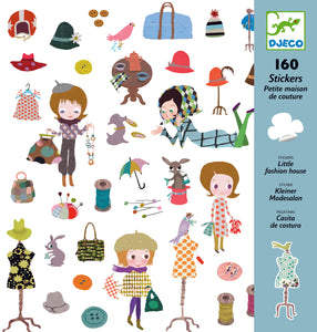 Djeco - Fashion House - 160 Stickers