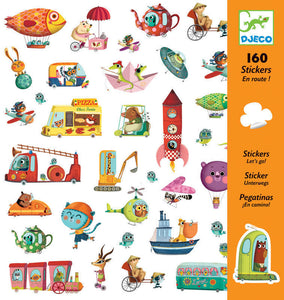 Djeco - Let's Go - 160 Stickers